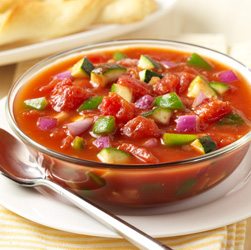 Summer Tomato Vegetable Soup