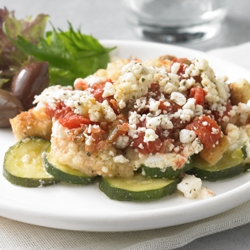 Greek Zucchini Bake