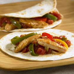 Easy Chicken Fajitas for Two