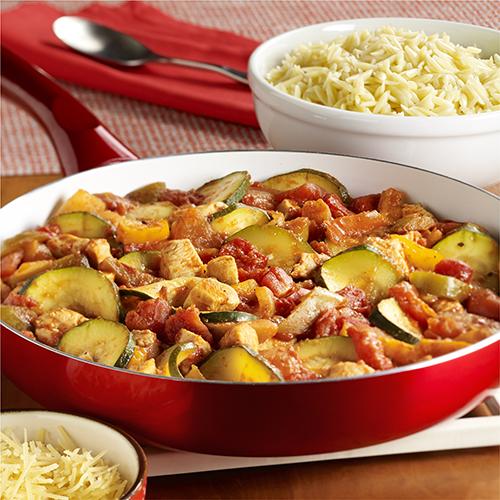 Italian Chicken-Zucchini Skillet