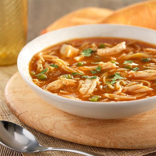 Sopa de Fideos con Pollo Recipe