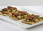 Wisconsin Hot Dog Flatbread