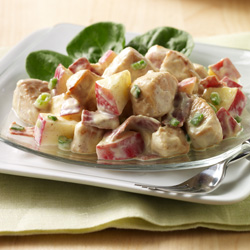 Apple-Bacon-Chicken Salad for Two