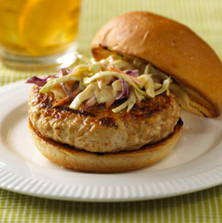 Asian-Style Turkey Burgers for Two