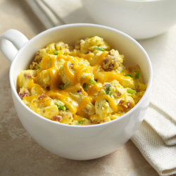 Bacon and Cheddar Egg Mug Scrambler™ Recipe