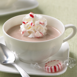 Peppermint Chocolate Eggnog