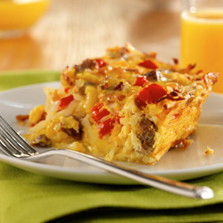Potato, Sausage and Egg Breakfast Casserole Recipe