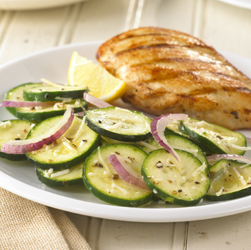 Summer Zucchini Salad