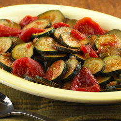 Sauteed Zucchini and Tomatoes