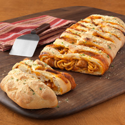 Braided Spaghetti Loaf Recipe