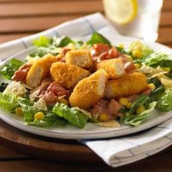 Ensalada de Pollo con Salsa Barbacoa