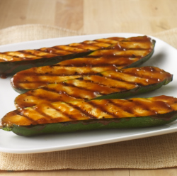 Grilled Zucchini with Teriyaki Sauce Recipe