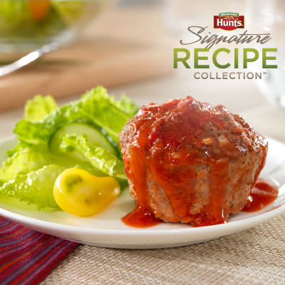 Hunt's® Quick Mini Meatloaves Recipe