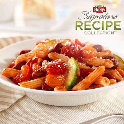 Hunt's Italian Vegetable Pasta Salad Recipe