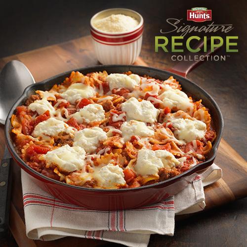 Hunt's® 'Classic' Skillet Lasagna Recipe