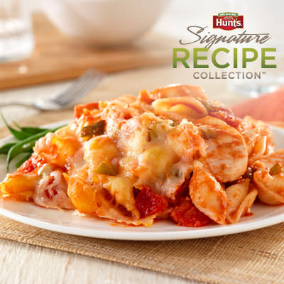 Hunt's® Cheesy Chicken and Pasta Casserole Recipe