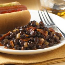 'Baked' Black Beans