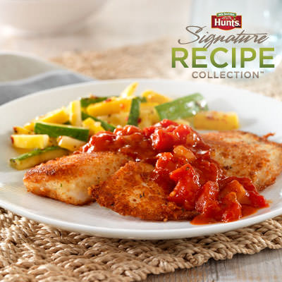 Hunt's® Crispy Breaded Tilapia Recipe