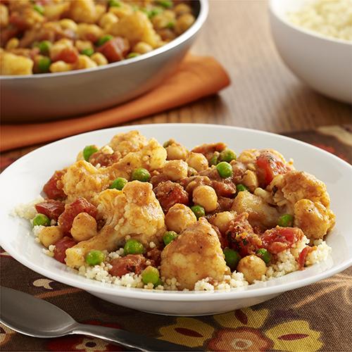 Guisado de Vegetales con Curry