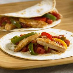Fajitas de Pollo Fáciles de Preparar
