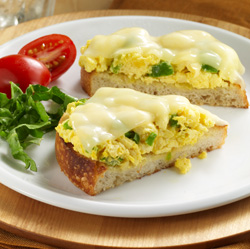 Sándwiches de Huevos y Pimientos