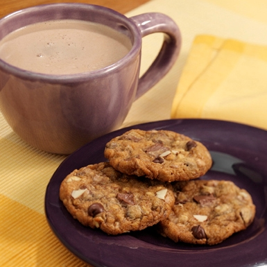 Almond Toffee Chocolate Chip Cookies - Recipe | ReadySetEat