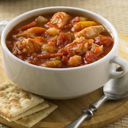 Sopa de Pescado y Tomate