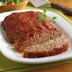 Pastel de Carne con Salsa