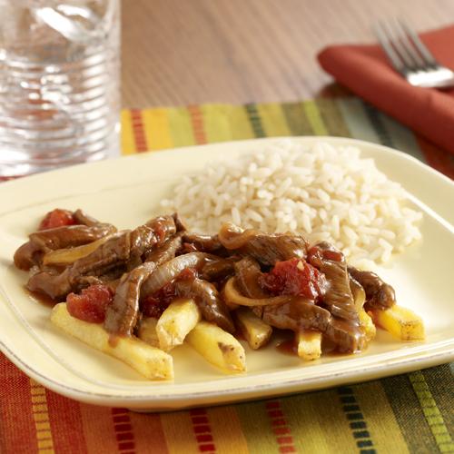 Sauteed Beef Tenderloin (Lomo Saltado)
