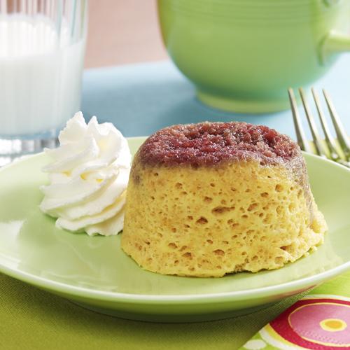 PB&J Mini Mug Cakes