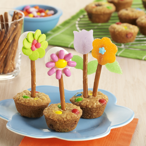'Flower Pot' Oatmeal Cookies Recipe