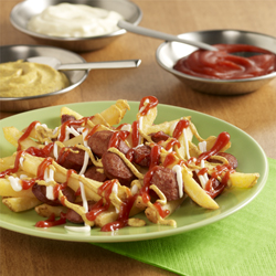 Franks with Fries (Salchipapas)