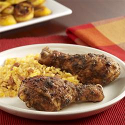 Jamaican Jerk Chicken (Pollo Marinado al Estilo Jamaiquino)