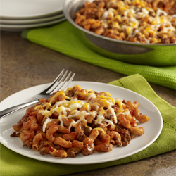 Sloppy Joe Macaroni Skillet