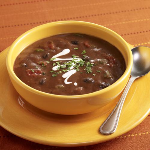 Sopa Negra Costarricense
