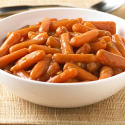 Zanahorias con Salsa de Cacahuate