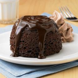 Pasteles (Lava Cakes) de Chocolate