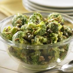 Ensalada de Brócoli con Curry
