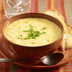 Sopa de Crema de Maíz Tierno