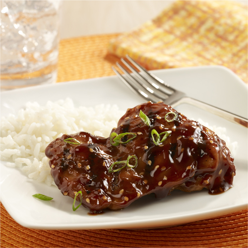 Sweet and Spicy Asian BBQ Chicken Recipe