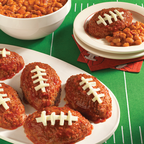 Hunt's® Touchdown Mini Meatloaf