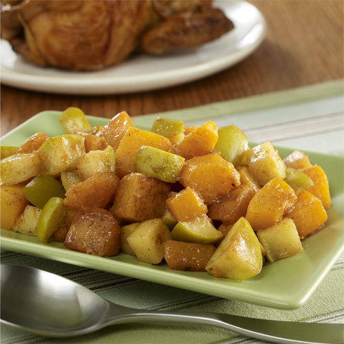 Pan Roasted Butternut Squash and Apples