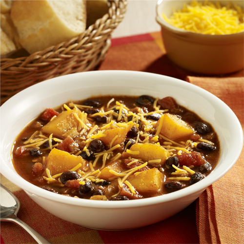 Butternut Squash and Black Bean Chili - Recipe | ReadySetEat