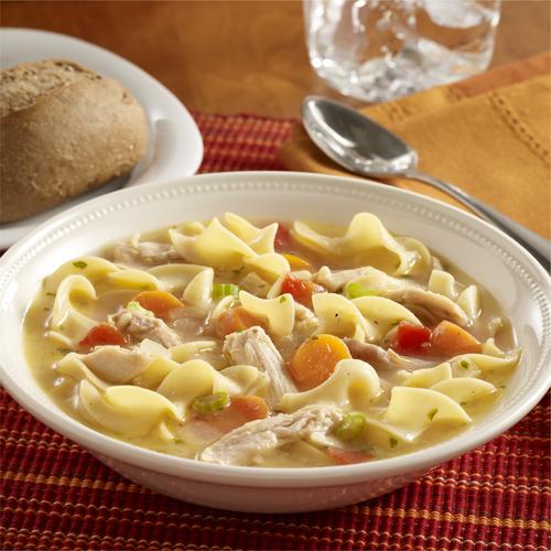 Sopa de Pavo y Tallarines