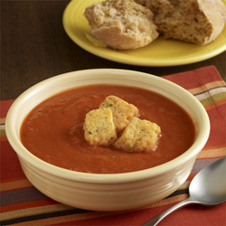 Sopa de Tomate Vegetariana