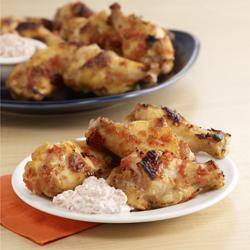 Alitas de Pollo Dulces y Picantes