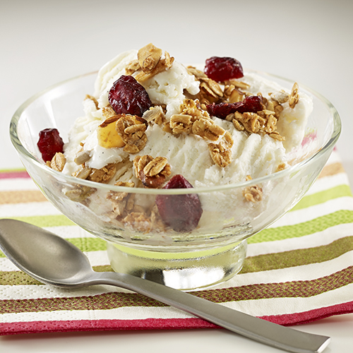 Yogurt Sundae Topped with Granola - Recipe | ReadySetEat