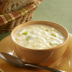 Sopa de Papas Cremosa