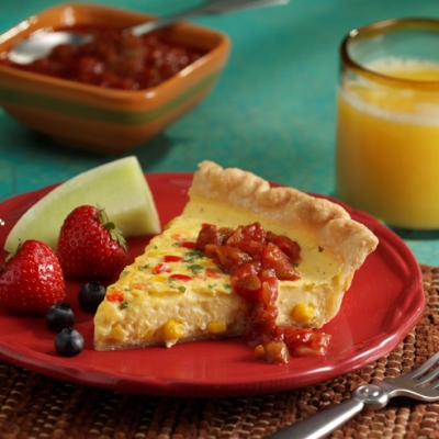 South-of-the-Border Quiche
