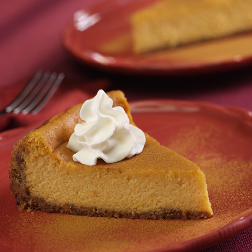 cinnamon pumpkin cheesecake fragrant with cinnamon and ginger this ...